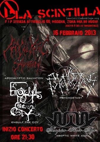 concerto death 16 febbraio colori